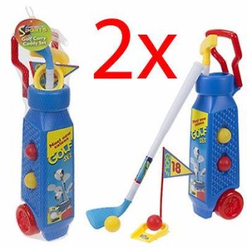 2 X KIDS PLASTIC GOLF CLUB