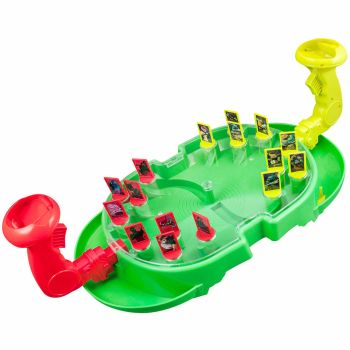 NINJA TURTLE FIRE BALL BATTLE SHOOTER BOARD GAME