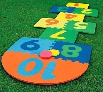 HOPSCOTCH SCRIBBLE TOY GAME MATS