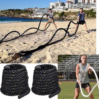 38mm-9M-Tranning-Battling-Battle-Power-Rope-Sport-Exercise-Fitness-