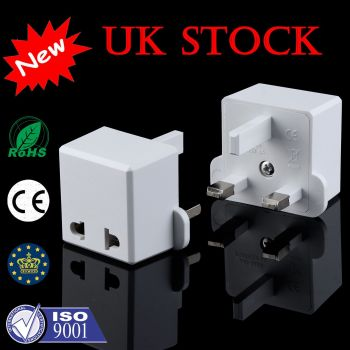 European Converter EU 2 to 3 Pin Plug