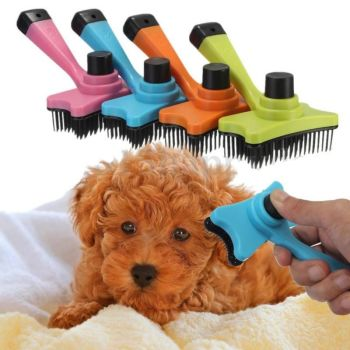 Dog Cat Brush Hair Fur Grooming Rake Comb Brush Tool