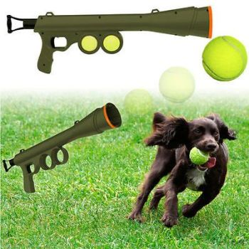 Dog-Ball-Launcher-with-Tennis-Balls