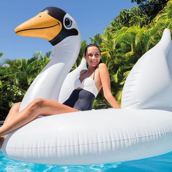 Intex-Mega-Swan-Island-Giant-Pool-Inflatable-Float-Ride-On-Lounger-Lilo