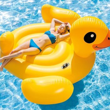 Intex-Giant-Mega-Duck-Yellow-Inflatable-Pool-Float-Lounger