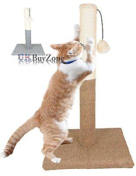 Large Cat Pet Scratch Post Scratching Tree Scratcher
