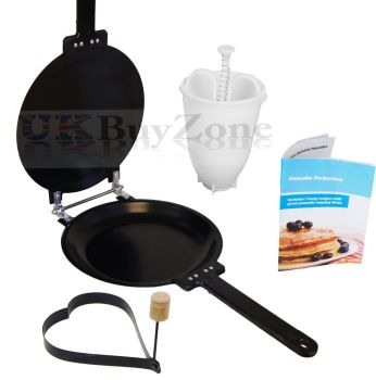 Pancake-Crepes-Omelette-Maker-Frying-Flip-Pan-FREE-Batter-Dispenser