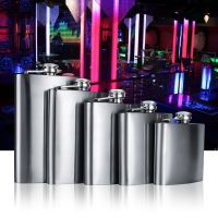 4oz - Stainless Steel Pocket Hip Flask