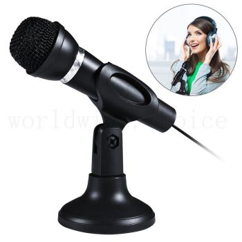Computer Microphone 3.5mm Mic MSN Skype Desktop Web Chat