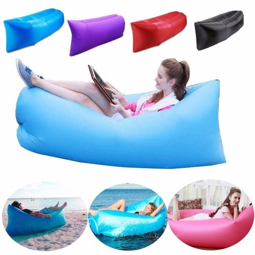 Air Chair Inflatable Sofa Air Bed Lounger WAS £39
