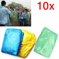 10X-Disposable-Adult-Emergency-Waterproof-Raincoat-Poncho