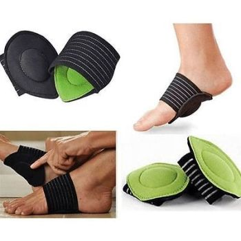 2 Foot Heel Pain Relief Plantar Fasciitis Insole Pad& Arch Support