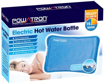 Rechargeable Electric Hot Water Bottle Bed Hand Warmer Massaging Heat Pad Cozy