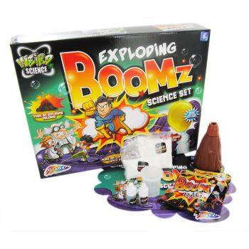 Exploding Boomz Science Mad Scientist Experiment Chemistry Set