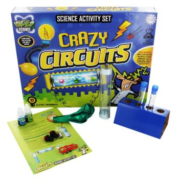 Crazy Electricity Learn Electric Circuits Science Set