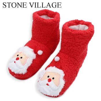 Christmas Bootie-Slippers