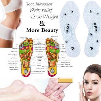 Men and Women Magnetic Therapy Foot Insole