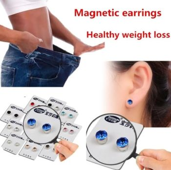 Magnetic Slimming Earrings Weight Loss Acupoints