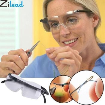 Zilead 250 Degree Vision Glasses Magnifier Magnifying Eyewear