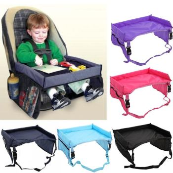 Waterproof Table Safety Car Seat Tray Kids
