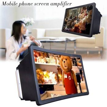 Universal 3D Screen Amplifier Magnifying Glass HD Stand for Video Car Holder Phone