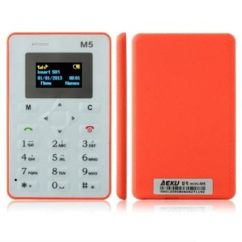 M5 CARD MOBILE PHONE 4.5MM ULTRA THIN