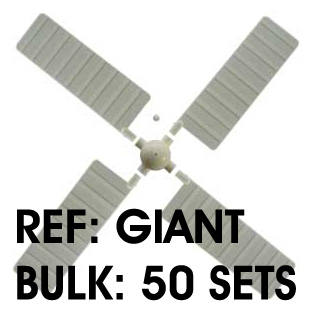 Giant Windmill Blades - Bulk: 50 Sets. 17