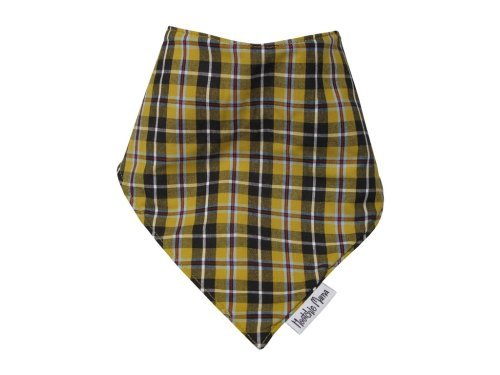 Cornish Tartan Bandana Dribble bib