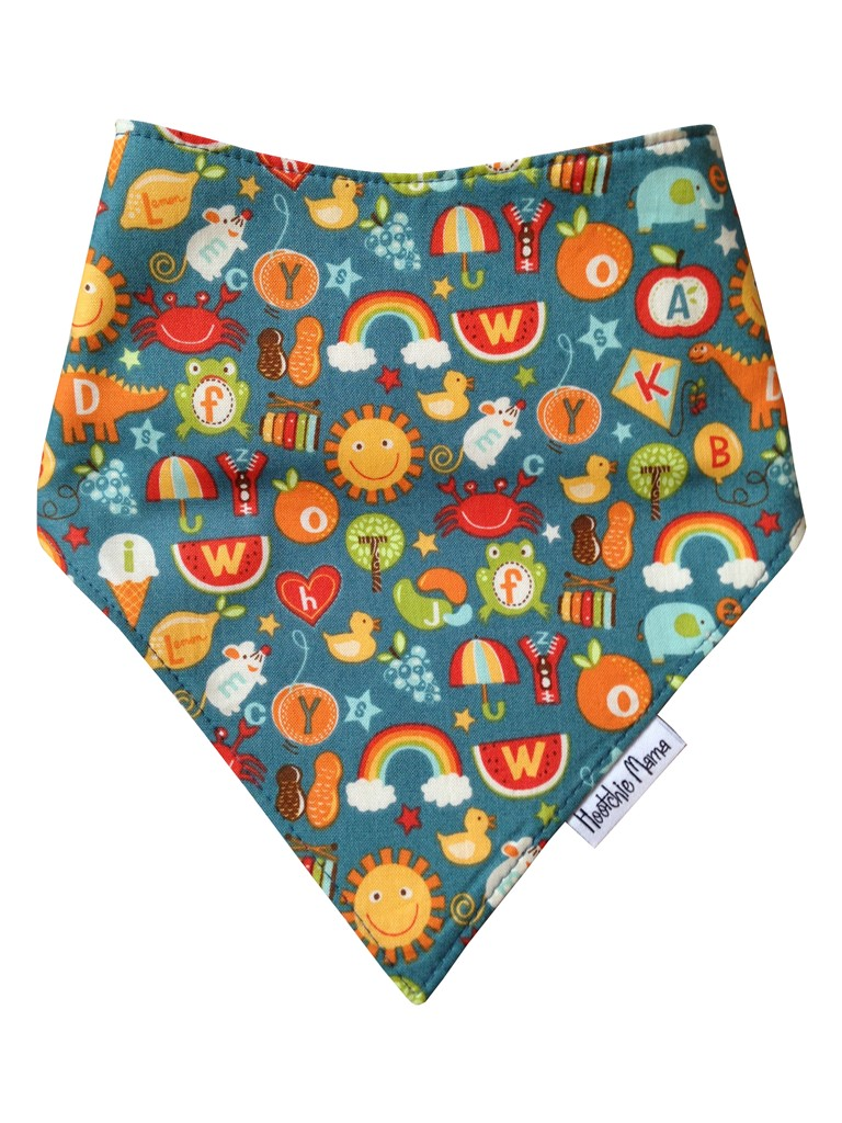 School Days Bandana Dribble Bib