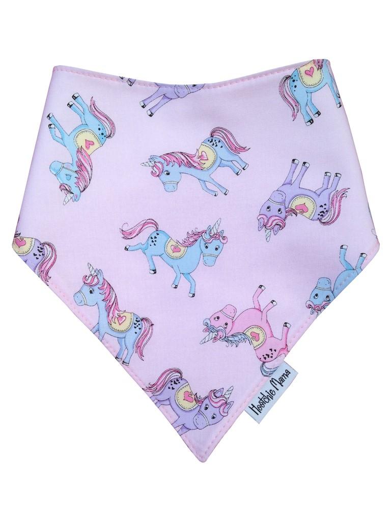 Glitter Unicorns Bandana Dribble Bib