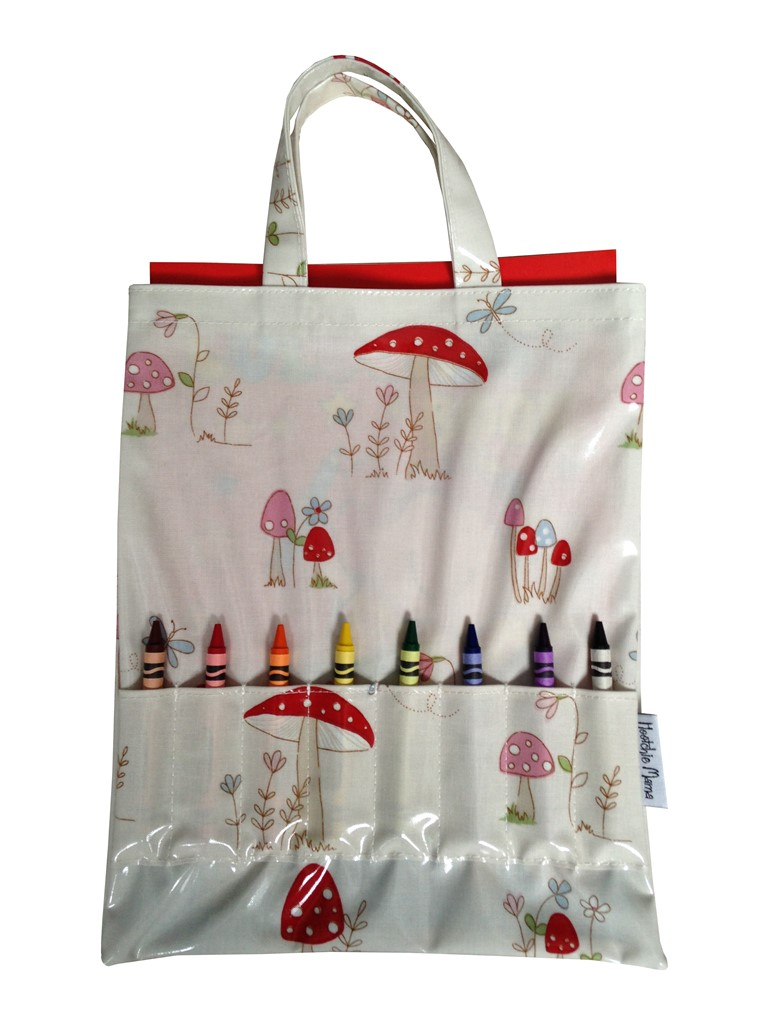 Toadstools Crayon Bag