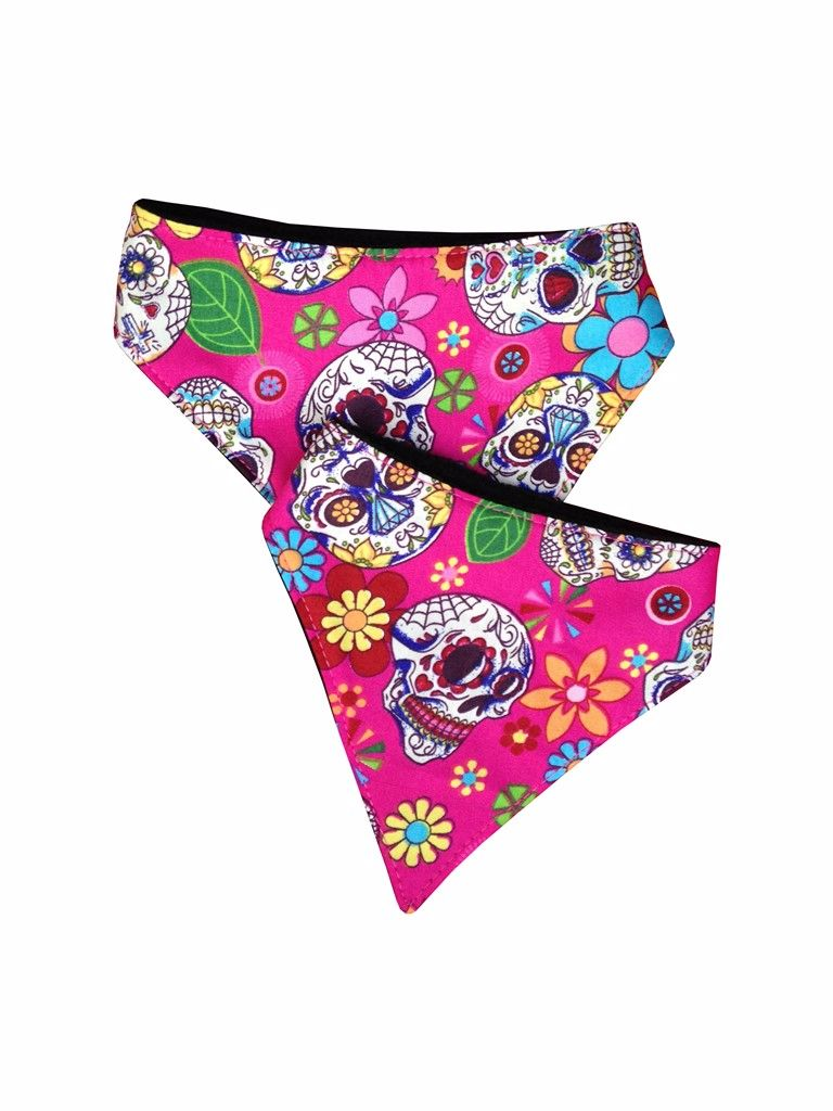 Day of the Dead Dog Bandana
