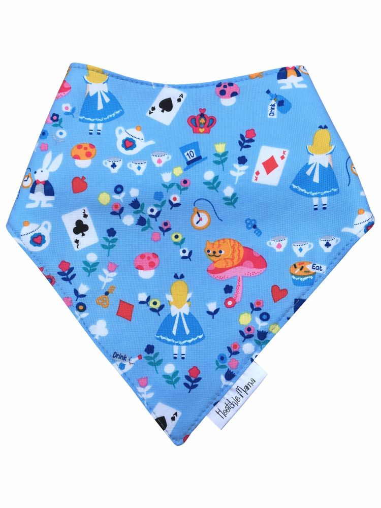 Alice in Wonderland Bandana Dribble Bib