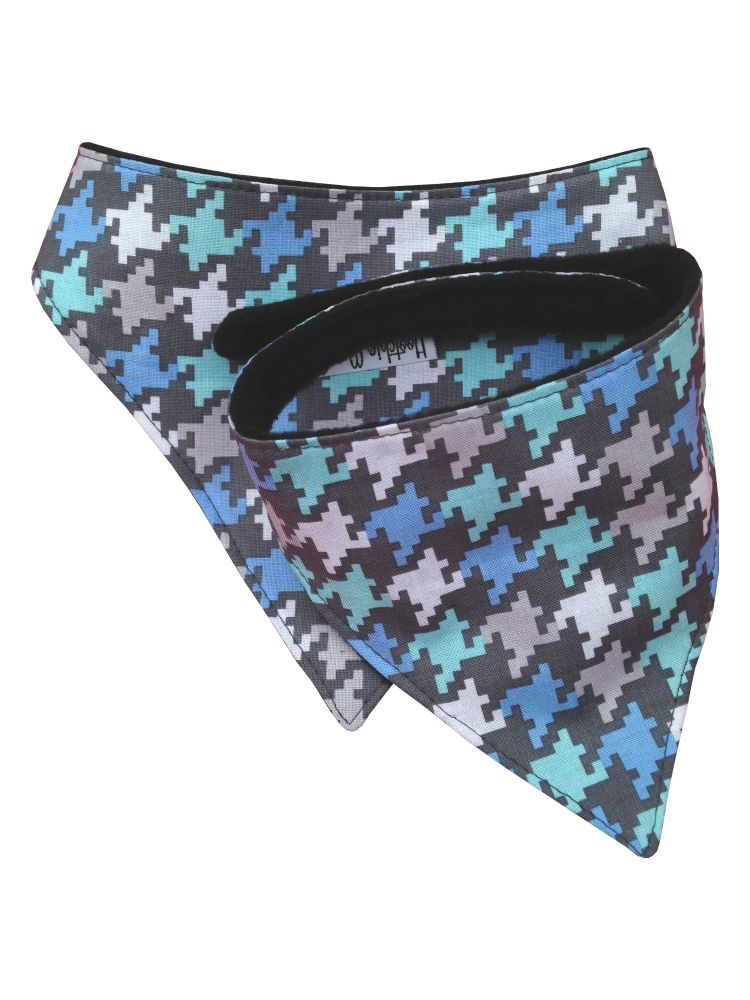 Large Houndstooth Dog Bandana