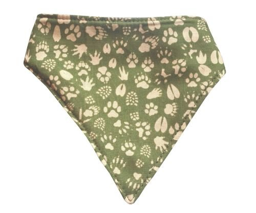 Small Camping Trails Dog Bandana