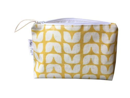 Ochre Tulip Cosmetic Bag