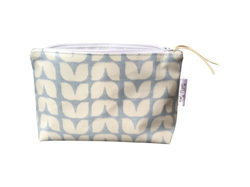 Blue Tulip Cosmetic Bag