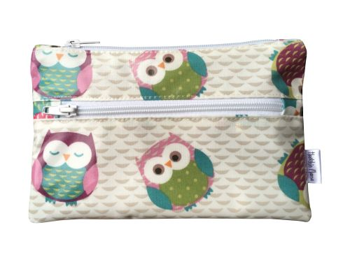 Pink Owls Pencil Case