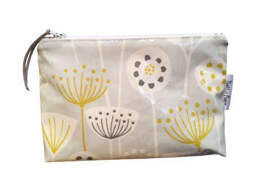 Grey Bergen Cosmetic Bag