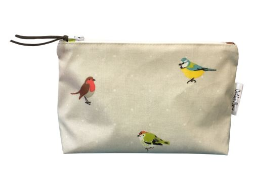 Garden Birds Cosmetic Bag