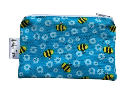 Blue Bees Mini Purse