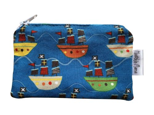 Pirate Ships Mini Purse
