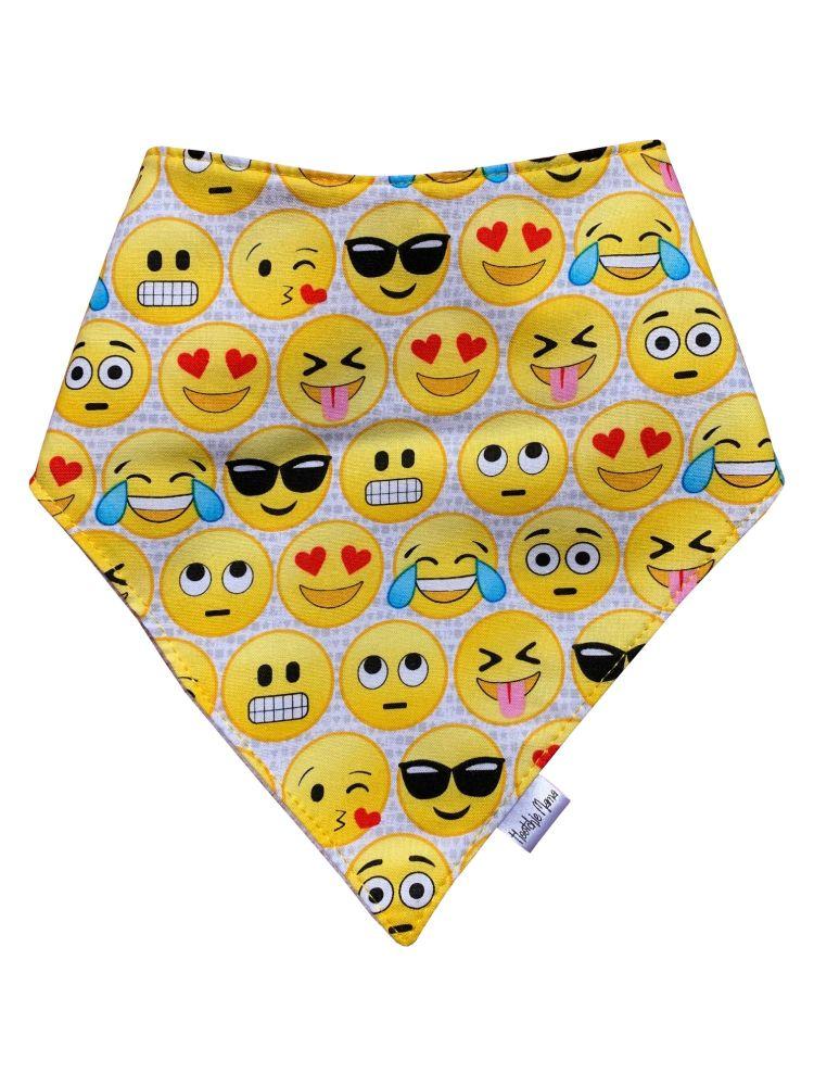 Emojis Bandana Dribble Bib
