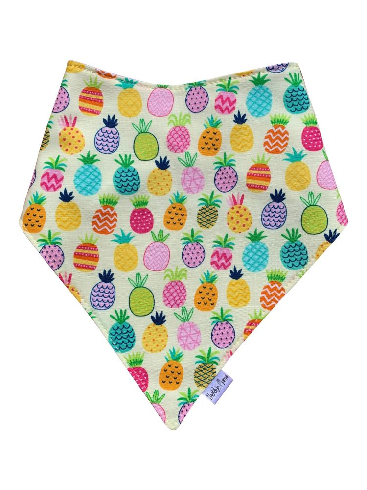 Pineapples Dribble Bib