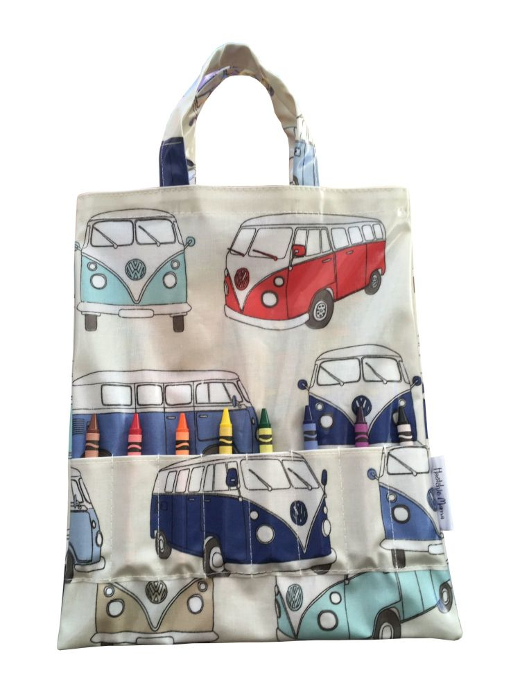 Campervan Crayon Bag