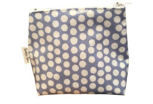 Blue Dot Mini Makeup Bag