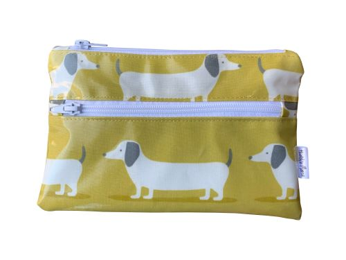 Hound Dog Ochre Pencil Case