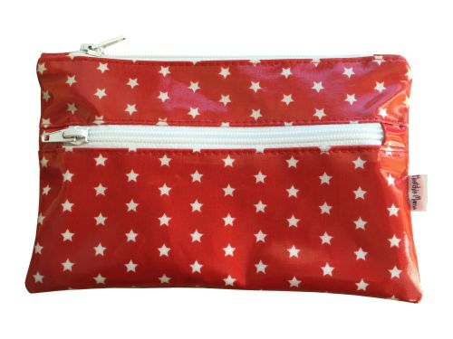 Red Stars Pencil Case