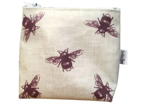 Bees Mini Makeup Bag