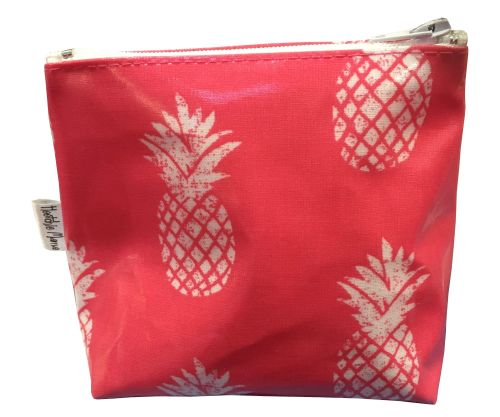 Pineapples Mini Makeup Bag